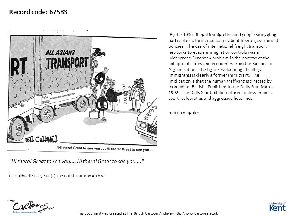 This document was created at The British Cartoon Archive - http://www.cartoons.ac.uk Record code: 67583