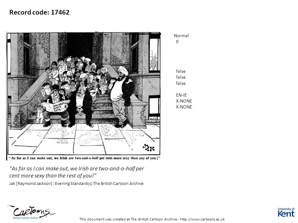 This document was created at The British Cartoon Archive - http://www.cartoons.ac.uk Record code: 17462