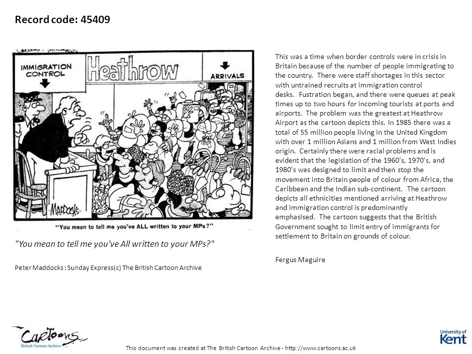 This document was created at The British Cartoon Archive - http://www.cartoons.ac.uk Record code: 45409