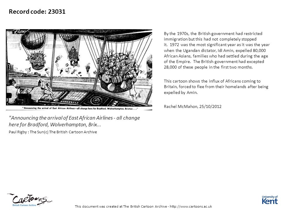 This document was created at The British Cartoon Archive - http://www.cartoons.ac.uk Record code: 23031