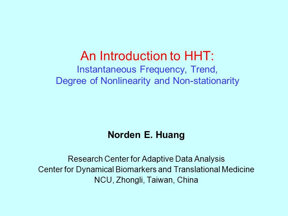 The Hilbert spectrum of Surrogate data : Hello