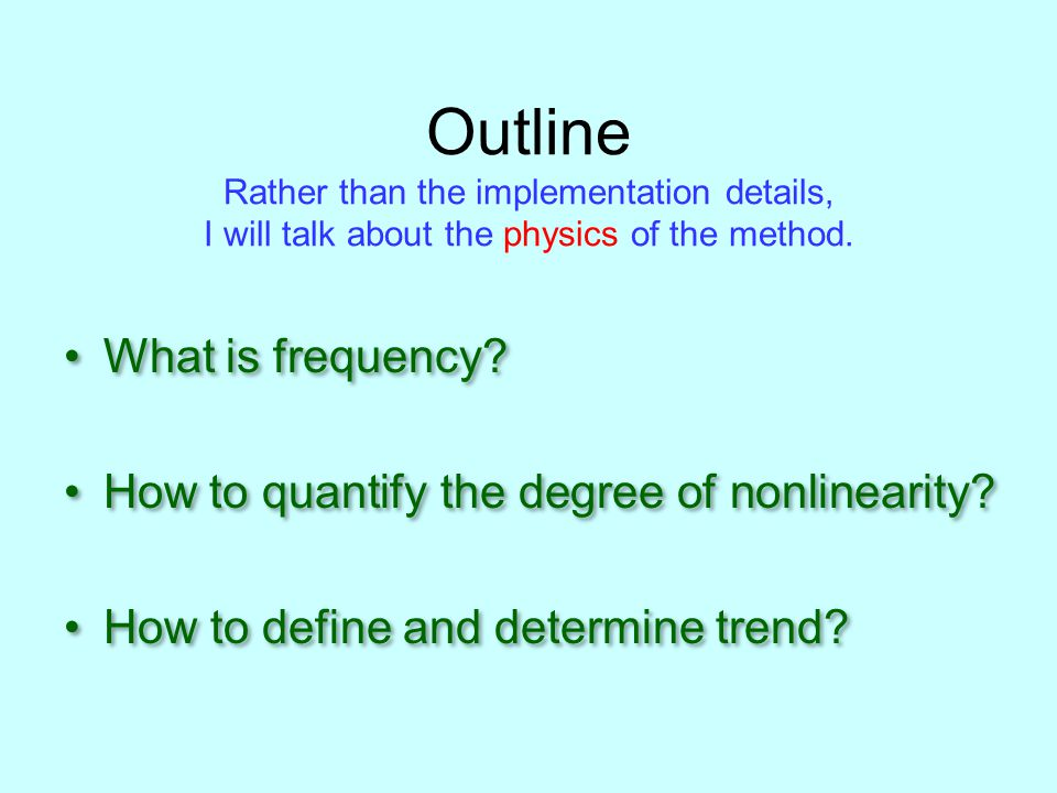 What is frequency.It seems to be trivial.