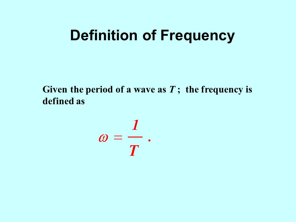 Instantaneous Frequency