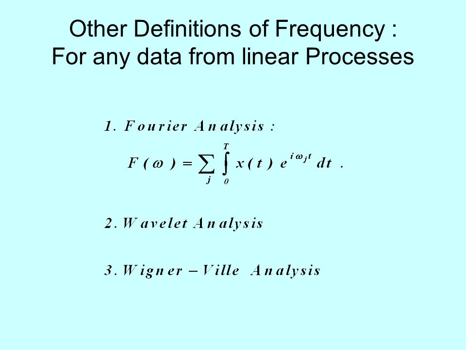 Definition of Power Spectral Density Since a signal with nonzero average power is not square integrable, the Fourier transforms do not exist in this case.