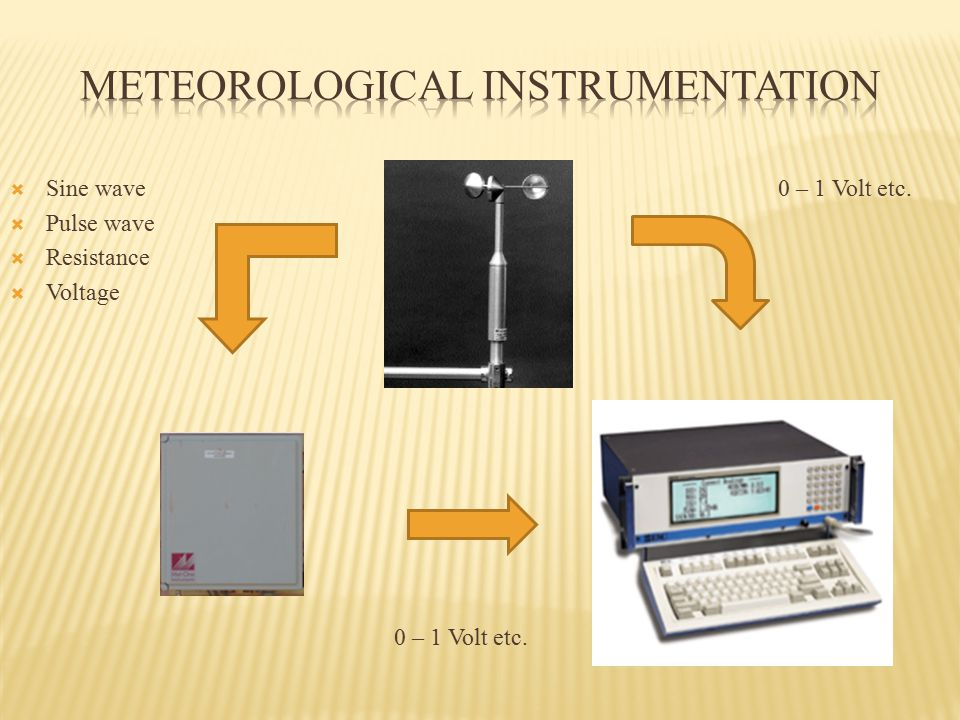  Sine wave0 – 1 Volt etc.  Pulse wave  Resistance  Voltage 0 – 1 Volt etc.