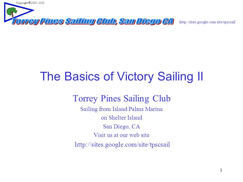 http://sites.google.com/site/tpscsail Copyright  2005 - 2013 12 Sailing Windward  Why does it go up wind.