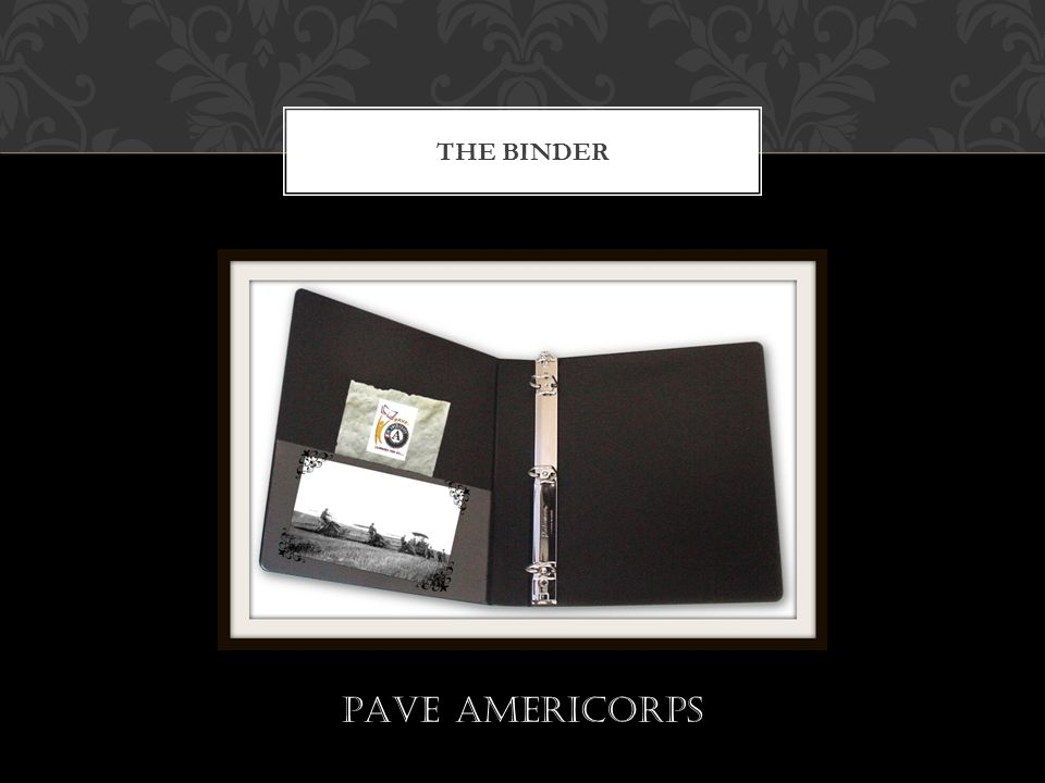 THE BINDER PAVE AmeriCorps