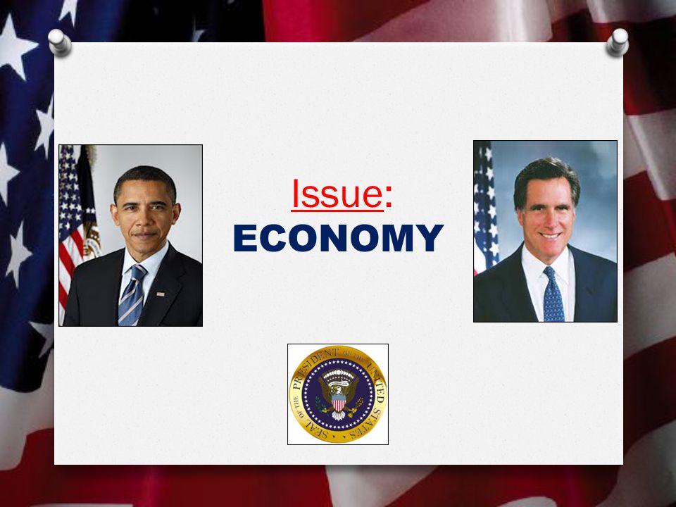 Issue: ECONOMY
