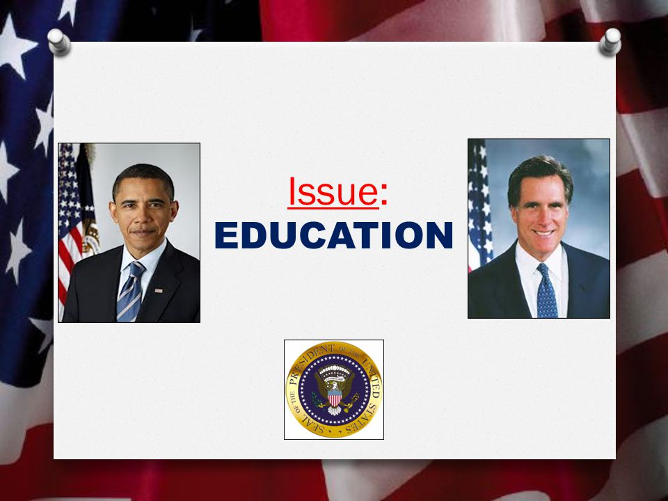 Issue: EDUCATION