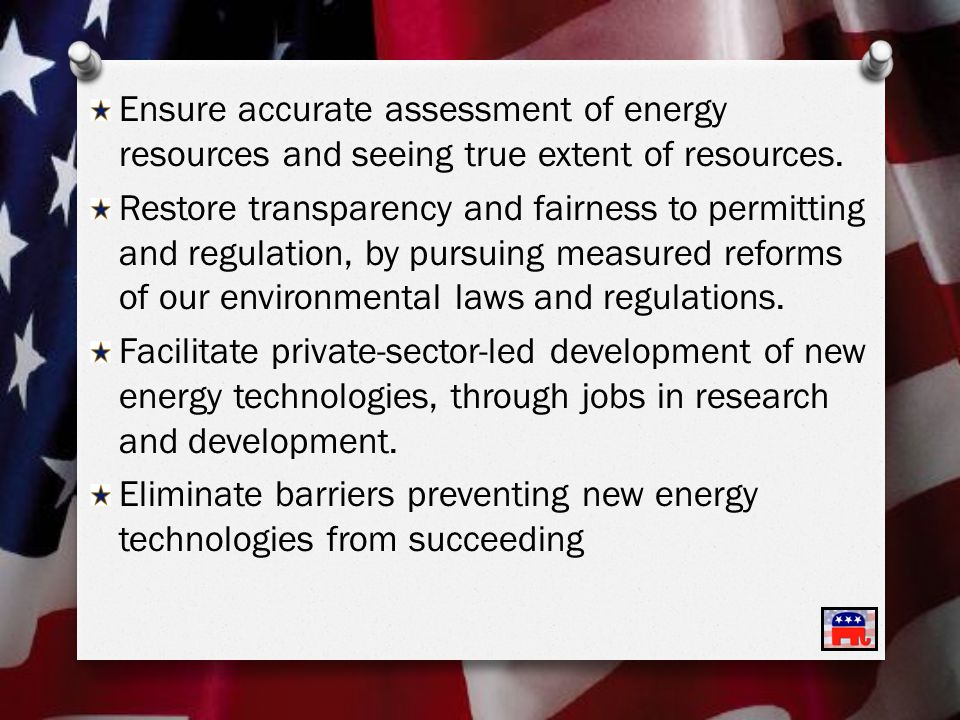 Ensure accurate assessment of energy resources and seeing true extent of resources.