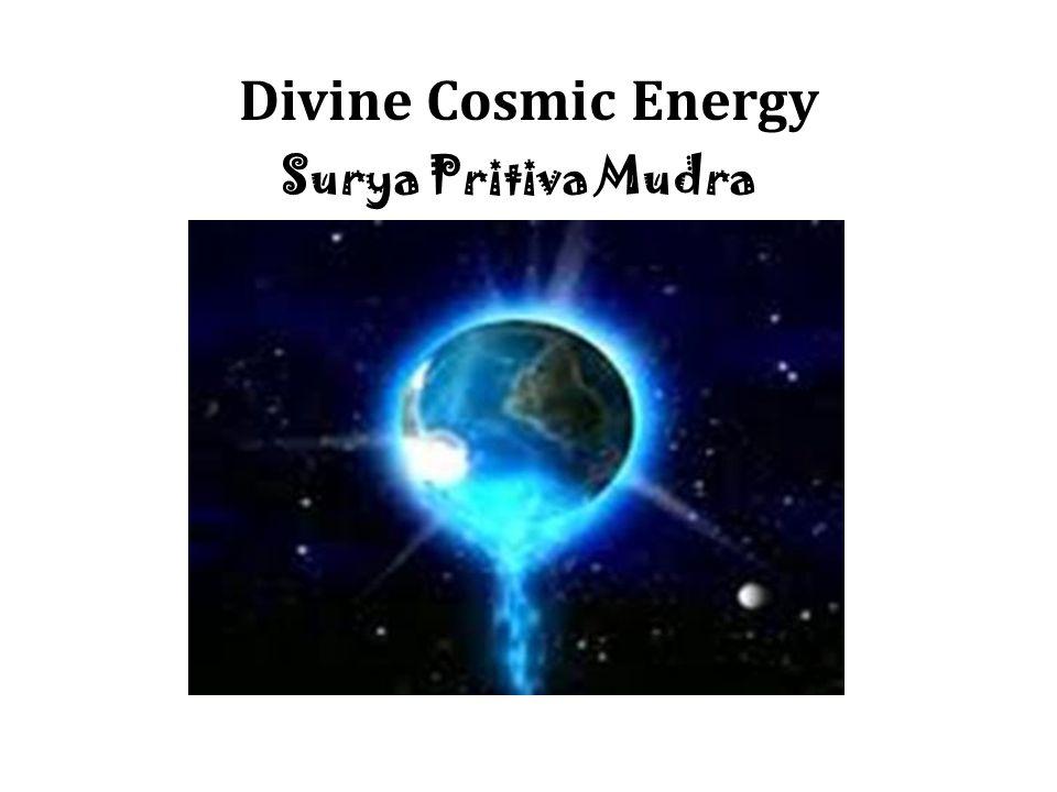 Divine Cosmic Energy Surya Pritiva Mudra