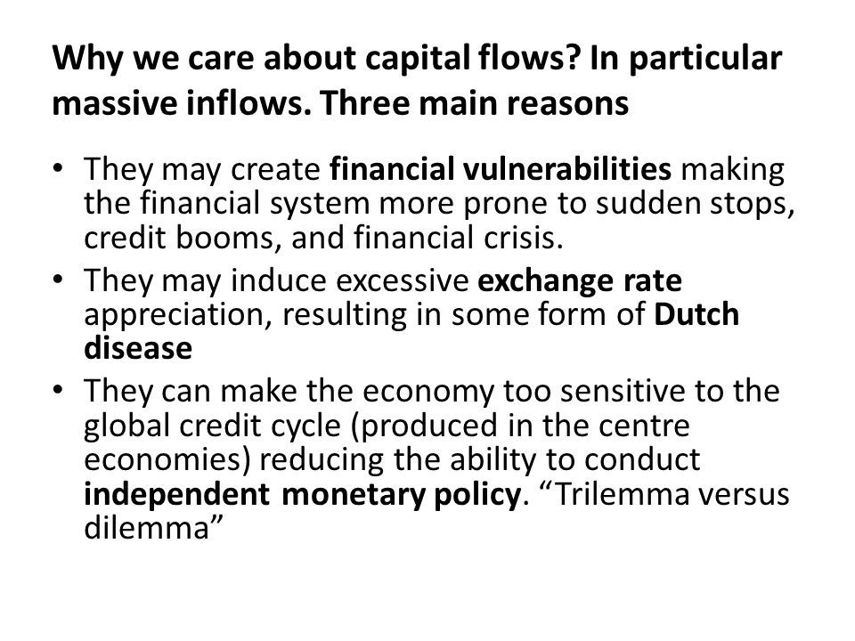 On financial liberalization and regulation (Financial stability) What come first: domestic or international financial liberalization.