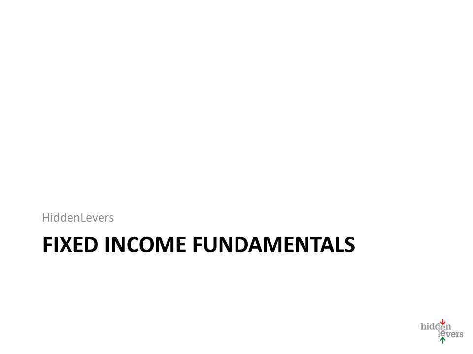 FIXED INCOME FUNDAMENTALS HiddenLevers