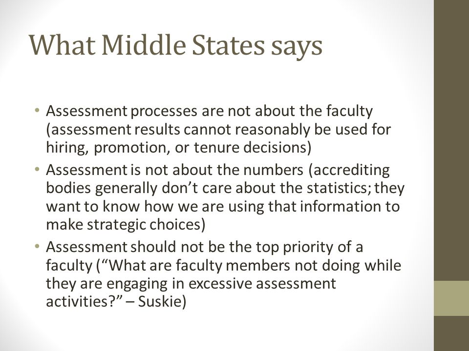 Question: Why do we conduct academic assessment projects.