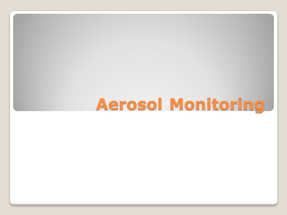 Direct-Reading Aerosol Monitors Light Scattering (Aerosol Photometers) – laser, IR, broad wavelength Piezo-Electric Mass Sensors Tapered Element Oscillating Microbalance (TEOM) Fibrous Aerosol Monitors – special type of aerosol photometer