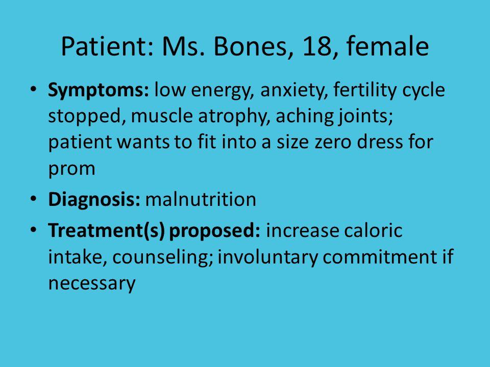 Patient: Ms.