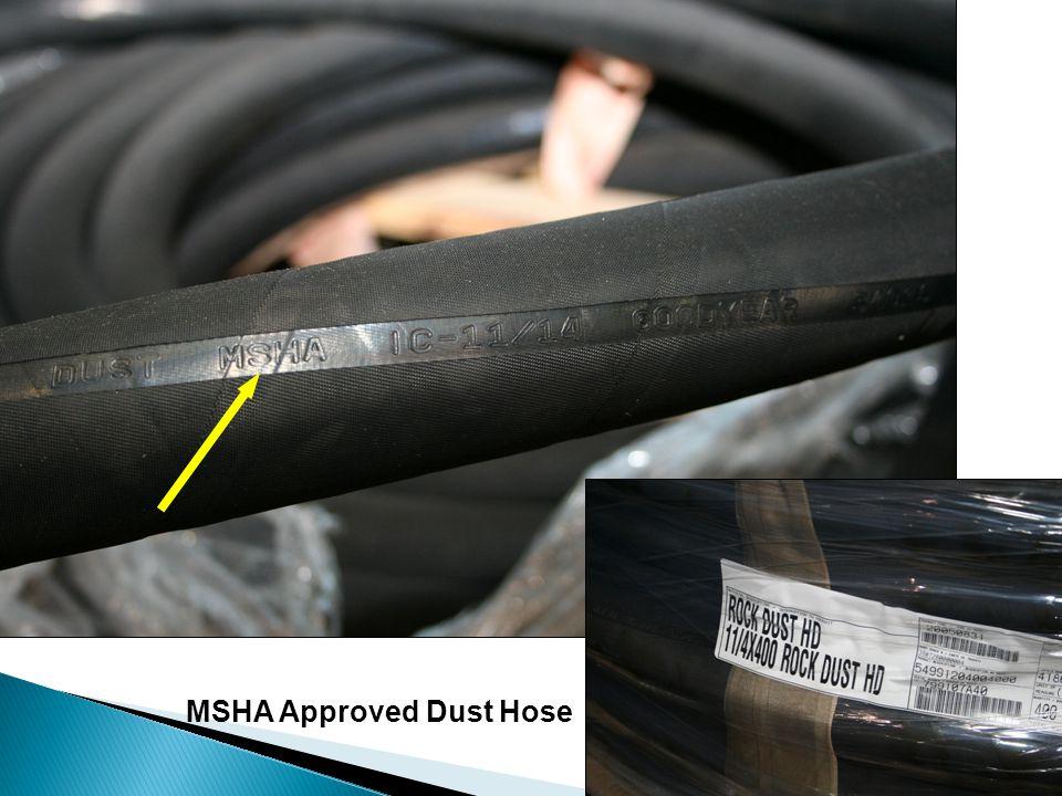MSHA Approved Dust Hose