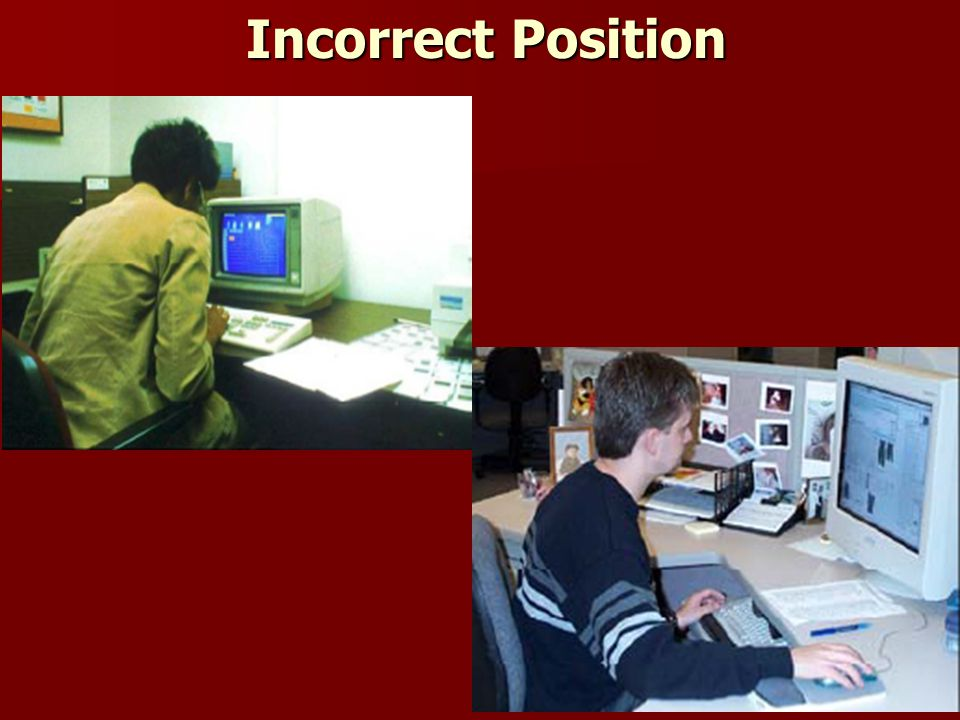 15 Incorrect Position