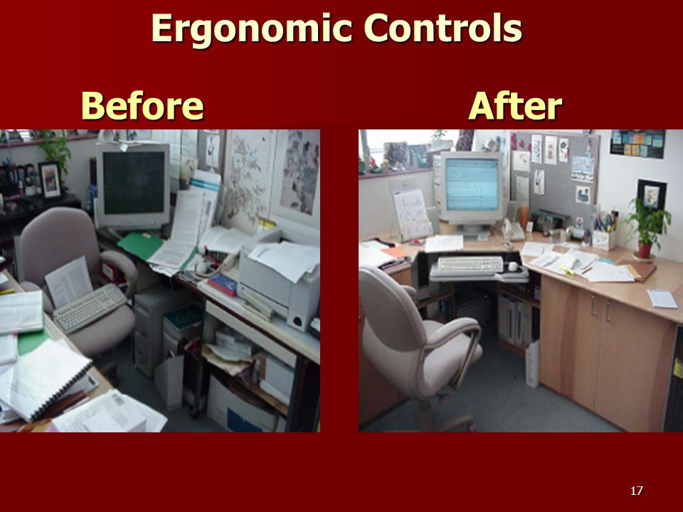 17 BeforeAfter Ergonomic Controls