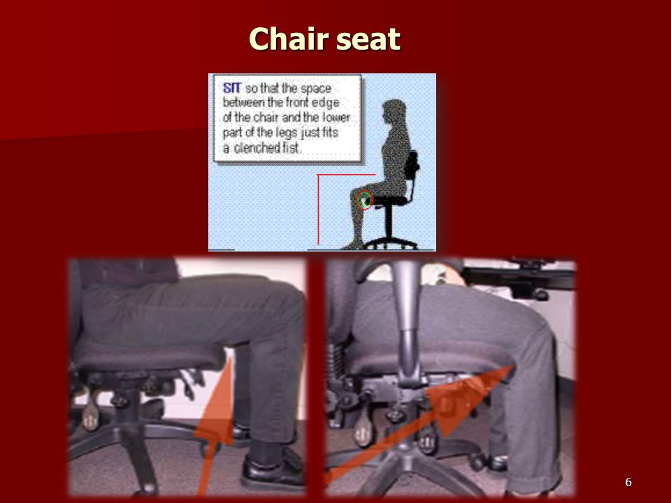 6 Chair seat