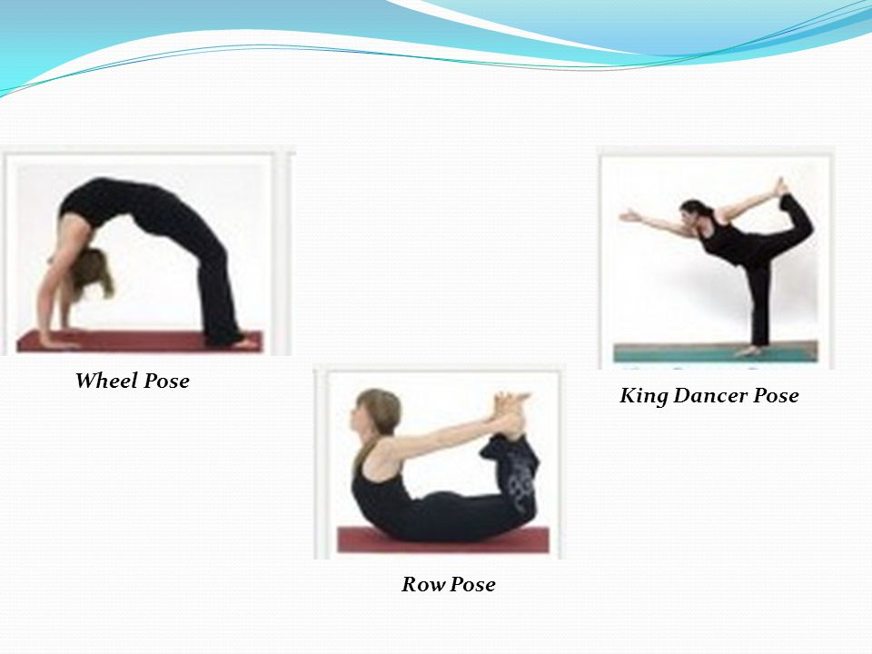 Wheel Pose Row Pose King Dancer Pose