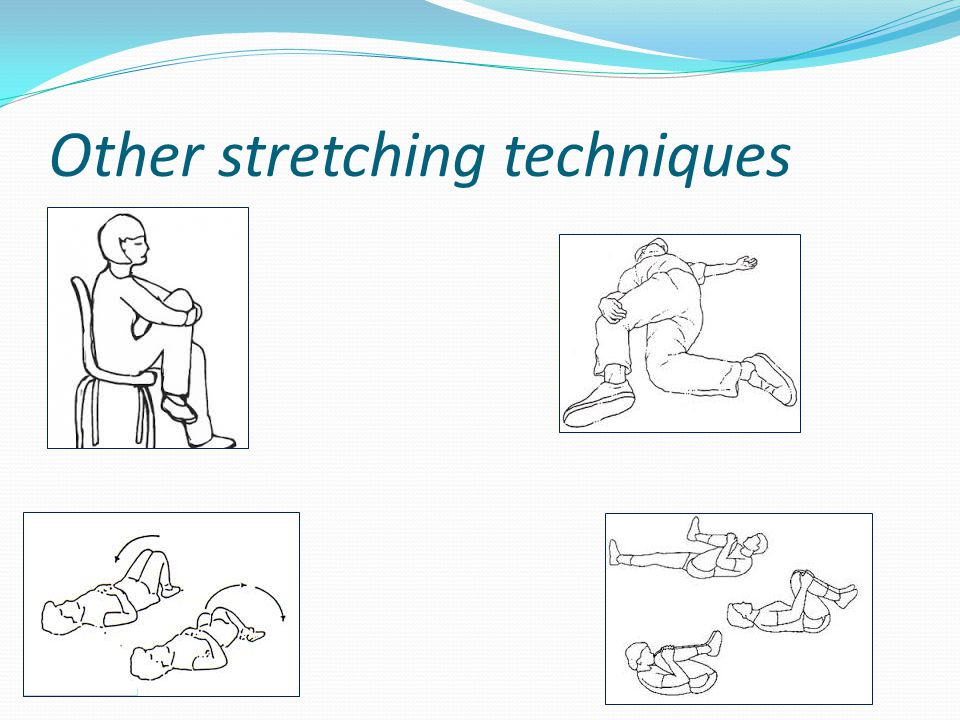 Other stretching techniques