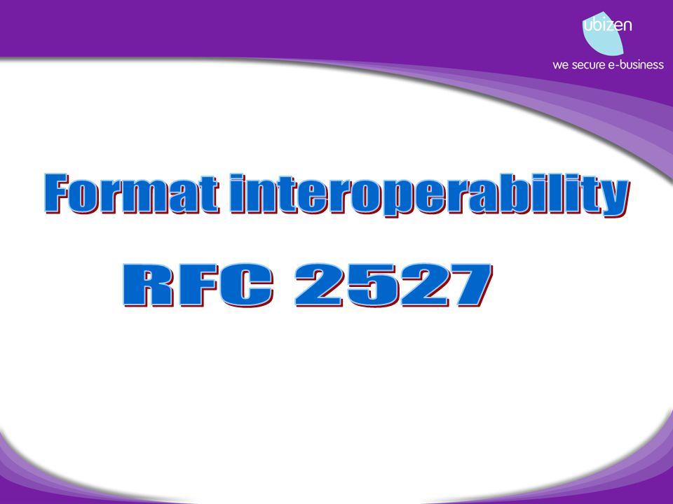 RFC 2527 Update