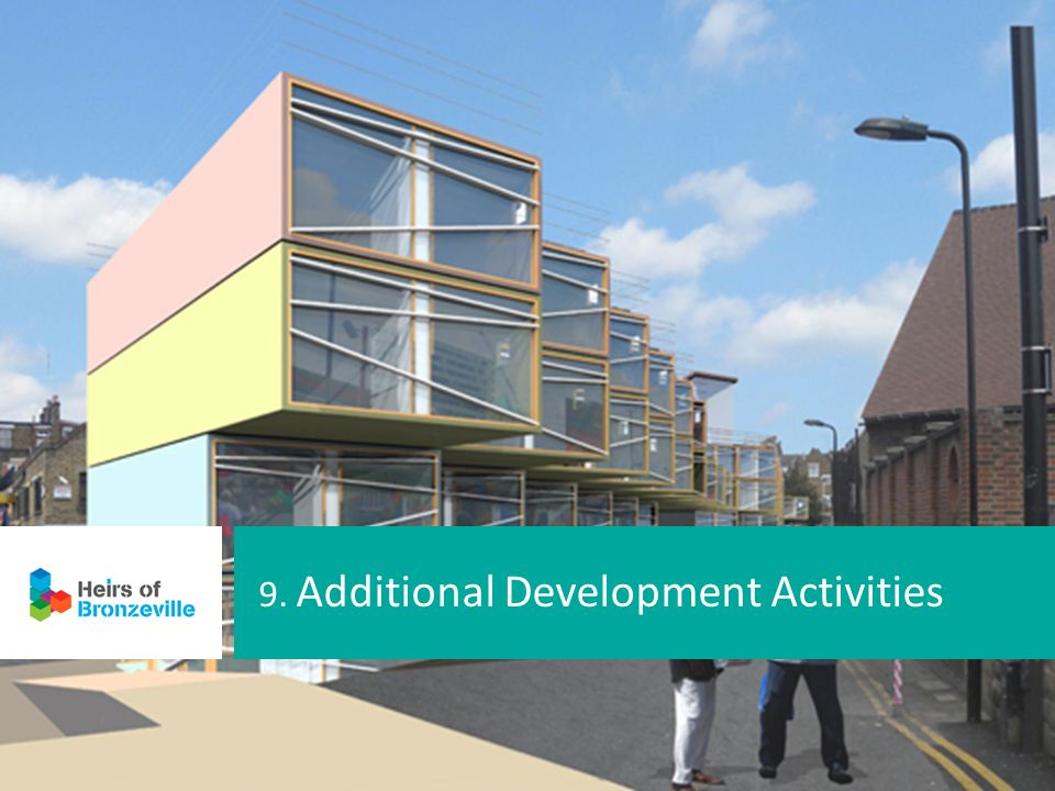 9. Additional Development Activities