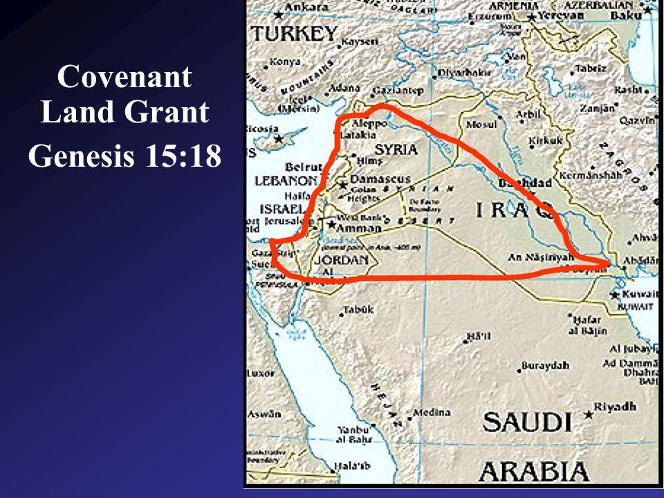 Covenant Land Grant Genesis 15:18