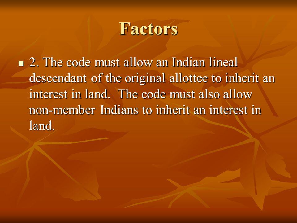 Factors 2.