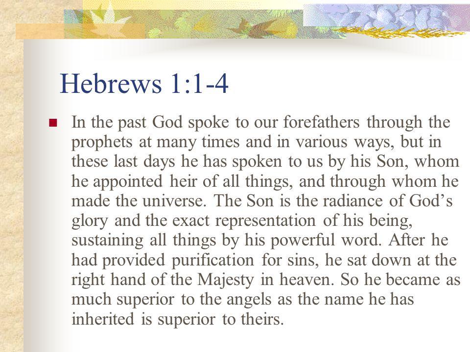 (8) Jesus is our Saviour!