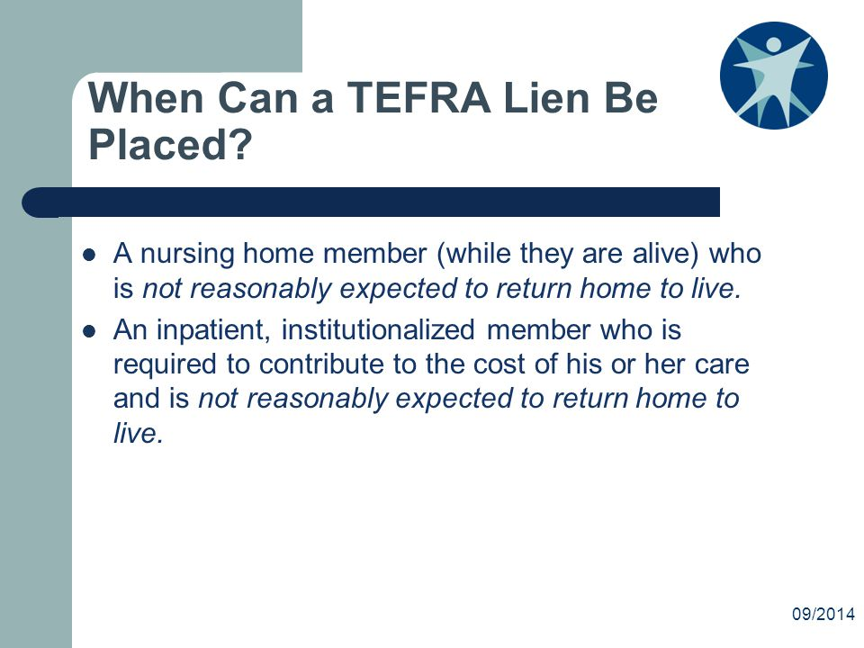 When Can a TEFRA Lien Be Placed.