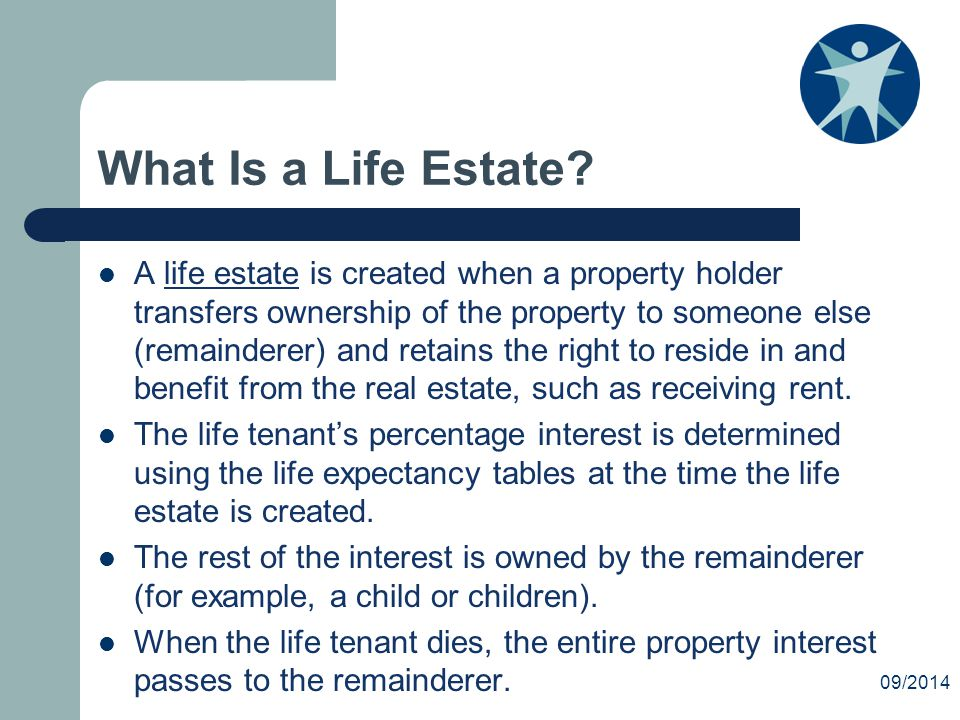 What Is a Life Estate.