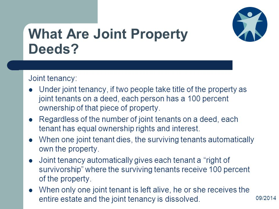 What Are Joint Property Deeds.