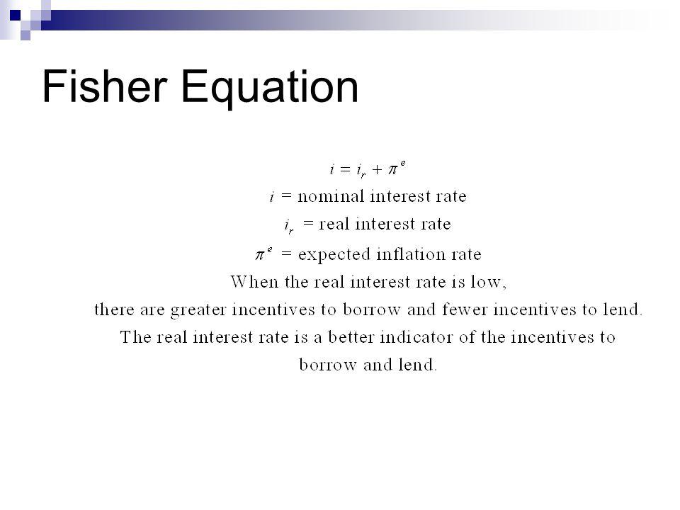 Fisher Equation