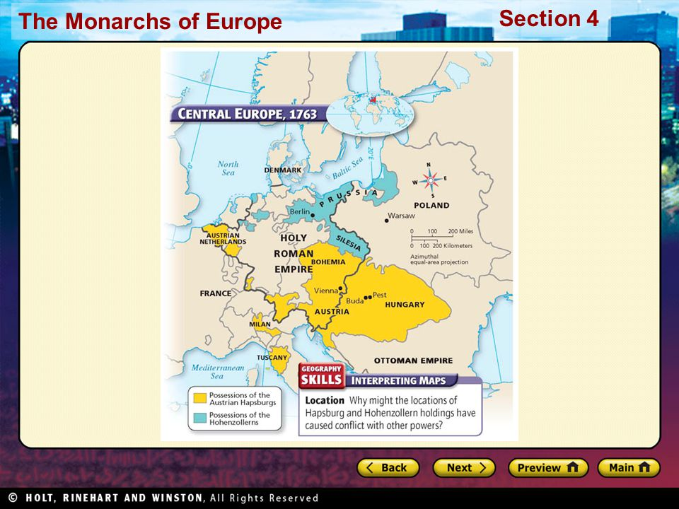 The Monarchs of Europe Section 4