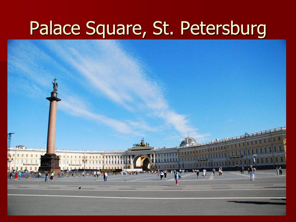 Palace Square, St. Petersburg