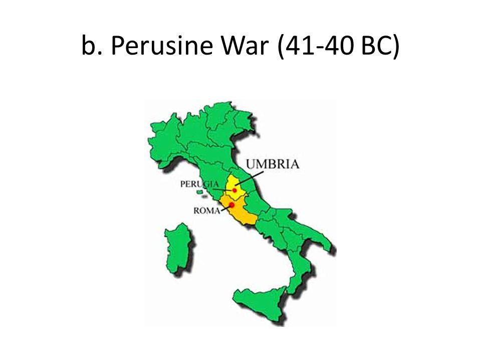 b. Perusine War (41-40 BC)