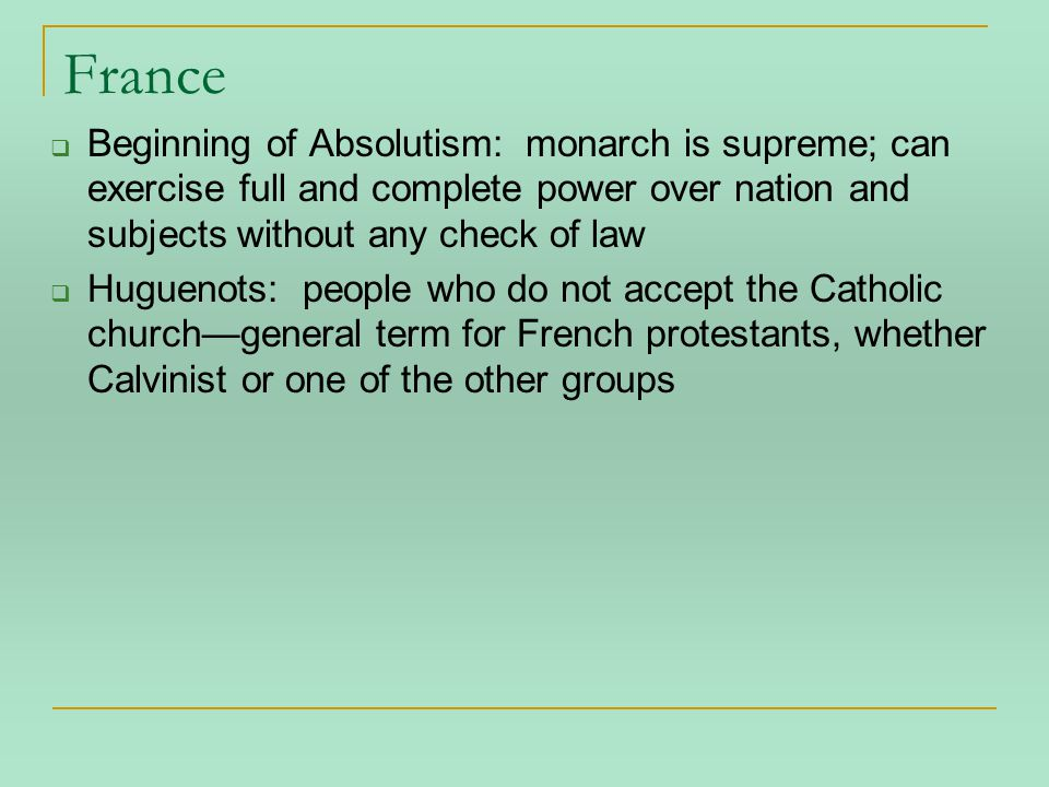 Rest of the Story The alliance breaks apart:  Calvinists more radical, tried to forbid Catholicism in their areas of control.
