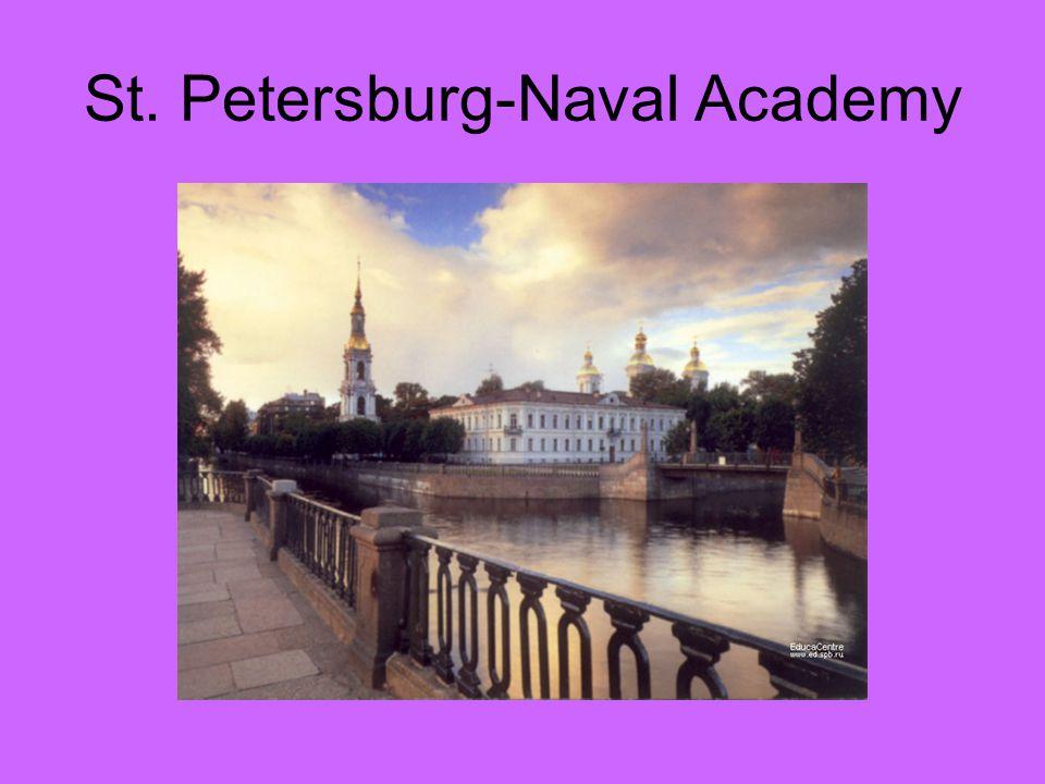 St. Petersburg-Naval Academy