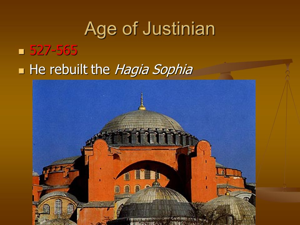 Byzantium The Byzantine emperor Justinian (527-565 CE) is best remembered for organizing ancient Roman laws into a collection of civil laws known today as Justinian s Code.