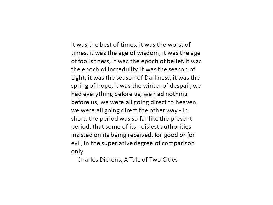 Major Novelists Charles Dickens –evolution from optimism to pessimism.