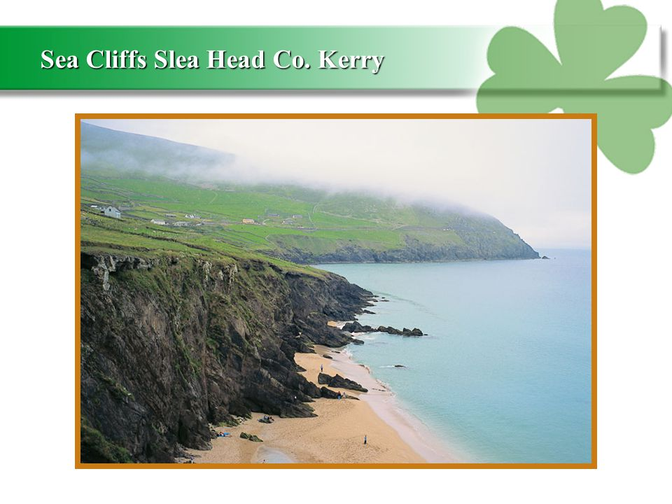 Sea Cliffs Slea Head Co. Kerry