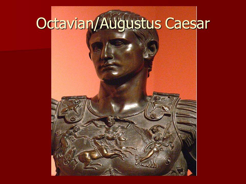 Octavian/Augustus Caesar