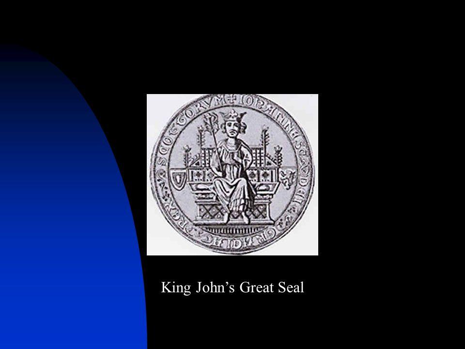 King John's Great Seal