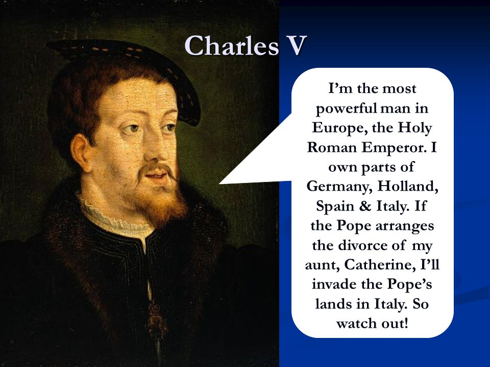 Pope, Clement VII First of all Henry I would like to thank you for your recent book attacking all the critics of my Church.