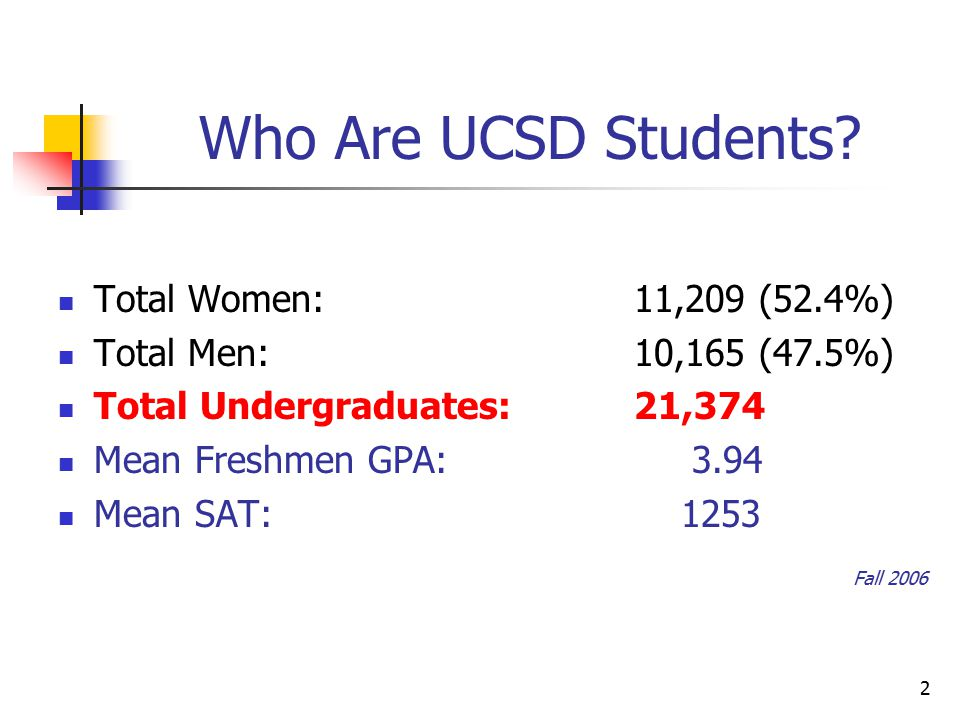 2 Who Are UCSD Students.