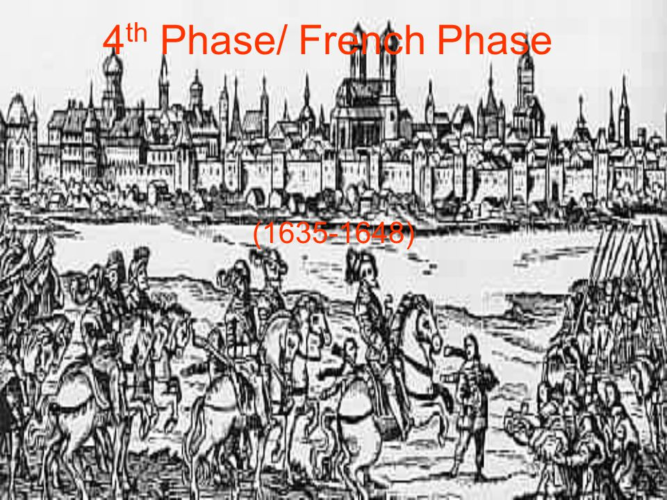 4 th Phase/ French Phase (1635-1648)