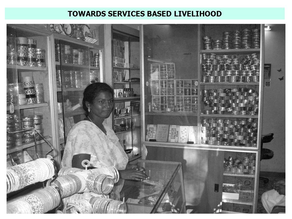 TOWARDS SERVICES BASED LIVELIHOOD