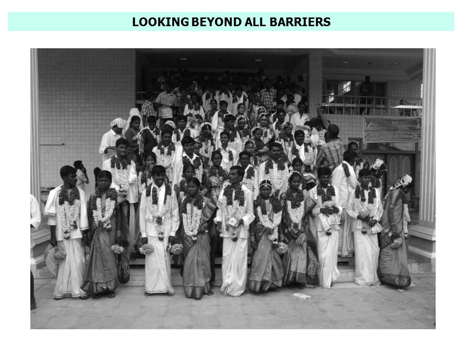 LOOKING BEYOND ALL BARRIERS